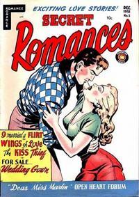 Cover Thumbnail for Secret Romances (Superior Publishers Limited, 1951 series) #5