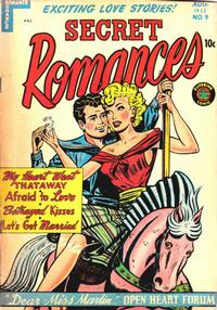 Cover Thumbnail for Secret Romances (Superior Publishers Limited, 1951 series) #9