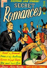 Cover Thumbnail for Secret Romances (Superior Publishers Limited, 1951 series) #15