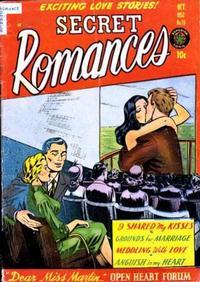 Cover Thumbnail for Secret Romances (Superior Publishers Limited, 1951 series) #16