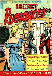 Cover Thumbnail for Secret Romances (Superior Publishers Limited, 1951 series) #17