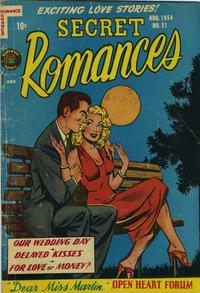 Cover Thumbnail for Secret Romances (Superior Publishers Limited, 1951 series) #21