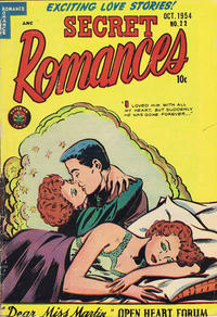 Cover Thumbnail for Secret Romances (Superior Publishers Limited, 1951 series) #22