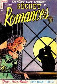 Cover Thumbnail for Secret Romances (Superior Publishers Limited, 1951 series) #24