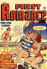 Cover Thumbnail for First Romance Magazine (Harvey, 1949 series) #1