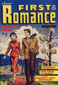 Cover Thumbnail for First Romance Magazine (Harvey, 1949 series) #3
