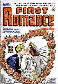 Cover Thumbnail for First Romance Magazine (Harvey, 1949 series) #4