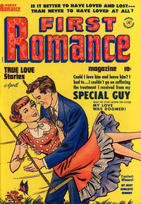 Cover Thumbnail for First Romance Magazine (Harvey, 1949 series) #5