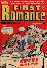Cover Thumbnail for First Romance Magazine (Harvey, 1949 series) #6