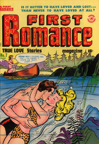 Cover Thumbnail for First Romance Magazine (Harvey, 1949 series) #7