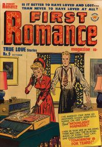 Cover Thumbnail for First Romance Magazine (Harvey, 1949 series) #9