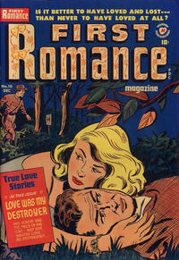 Cover Thumbnail for First Romance Magazine (Harvey, 1949 series) #10