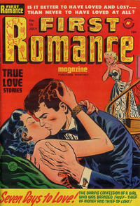 Cover Thumbnail for First Romance Magazine (Harvey, 1949 series) #15
