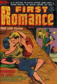 Cover Thumbnail for First Romance Magazine (Harvey, 1949 series) #17
