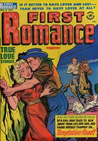 Cover Thumbnail for First Romance Magazine (Harvey, 1949 series) #18