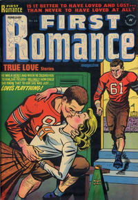 Cover Thumbnail for First Romance Magazine (Harvey, 1949 series) #20
