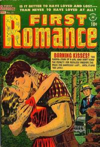 Cover Thumbnail for First Romance Magazine (Harvey, 1949 series) #21