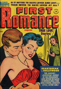 Cover Thumbnail for First Romance Magazine (Harvey, 1949 series) #22