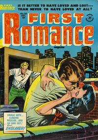 Cover Thumbnail for First Romance Magazine (Harvey, 1949 series) #25