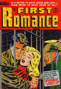 Cover Thumbnail for First Romance Magazine (Harvey, 1949 series) #26