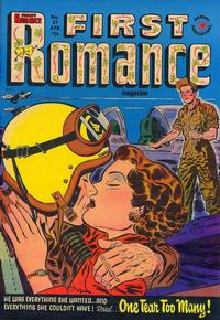 Cover for First Romance Magazine (Harvey, 1949 series) #27