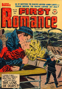 Cover Thumbnail for First Romance Magazine (Harvey, 1949 series) #28