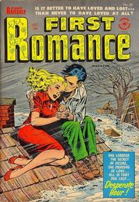 Cover Thumbnail for First Romance Magazine (Harvey, 1949 series) #30