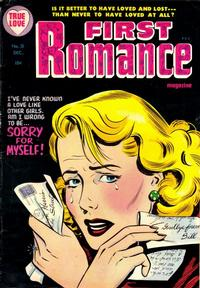 Cover Thumbnail for First Romance Magazine (Harvey, 1949 series) #31