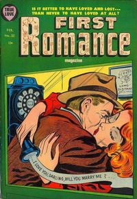 Cover Thumbnail for First Romance Magazine (Harvey, 1949 series) #32