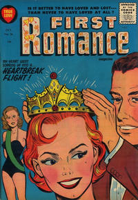 Cover Thumbnail for First Romance Magazine (Harvey, 1949 series) #36