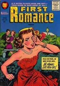 Cover Thumbnail for First Romance Magazine (Harvey, 1949 series) #39
