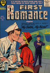 Cover Thumbnail for First Romance Magazine (Harvey, 1949 series) #42
