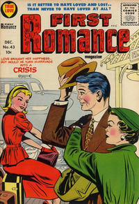 Cover Thumbnail for First Romance Magazine (Harvey, 1949 series) #43