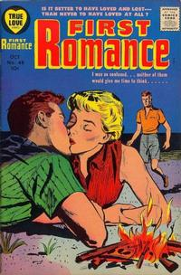 Cover Thumbnail for First Romance Magazine (Harvey, 1949 series) #48