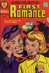 Cover Thumbnail for First Romance Magazine (Harvey, 1949 series) #49
