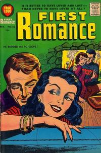 Cover Thumbnail for First Romance Magazine (Harvey, 1949 series) #50