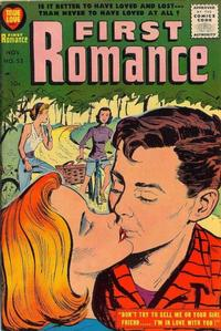 Cover Thumbnail for First Romance Magazine (Harvey, 1949 series) #52