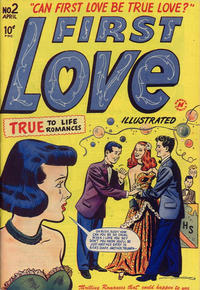 Cover Thumbnail for First Love Illustrated (Harvey, 1949 series) #2