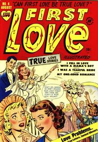 Cover Thumbnail for First Love Illustrated (Harvey, 1949 series) #4