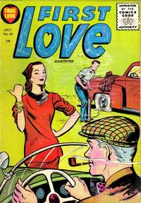 Cover Thumbnail for First Love Illustrated (Harvey, 1949 series) #54