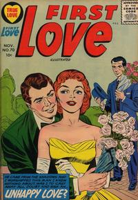 Cover Thumbnail for First Love Illustrated (Harvey, 1949 series) #70