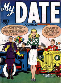 Cover Thumbnail for My Date Comics (Hillman, 1947 series) #v1#1