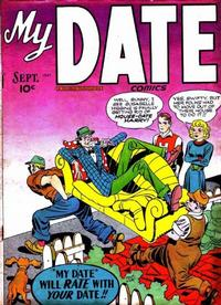 Cover Thumbnail for My Date Comics (Hillman, 1947 series) #v1#2