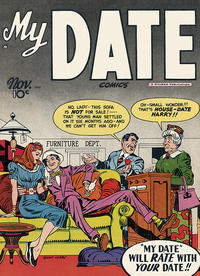 Cover Thumbnail for My Date Comics (Hillman, 1947 series) #v1#3