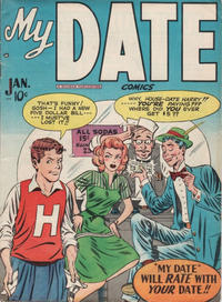 Cover Thumbnail for My Date Comics (Hillman, 1947 series) #v1#4