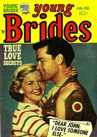 Cover Thumbnail for Young Brides (Prize, 1952 series) #v1#3 [3]
