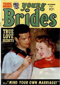 Cover Thumbnail for Young Brides (Prize, 1952 series) #v2#1 [7]