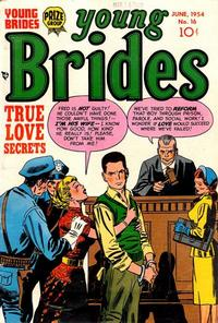 Cover Thumbnail for Young Brides (Prize, 1952 series) #v2#10 (16)