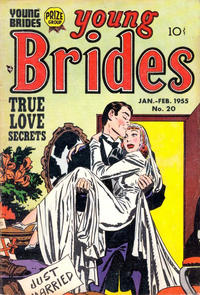 Cover Thumbnail for Young Brides (Prize, 1952 series) #v3#2 (20)