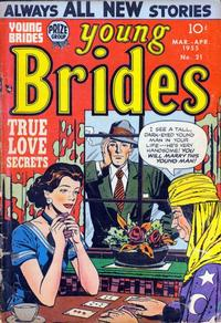 Cover Thumbnail for Young Brides (Prize, 1952 series) #v3#3 (21)